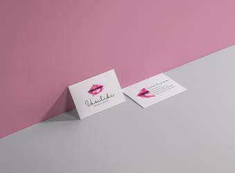 Makeup artist business card by deviantonis