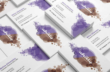 Logo design and Business card Wholly by deviantonis