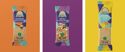 Package design / Snack Greek Pasteli by deviantonis