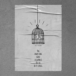 Social Poster Against fascism