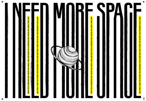 I-NEED-MORE-SPACE-POSTER 70X100cm