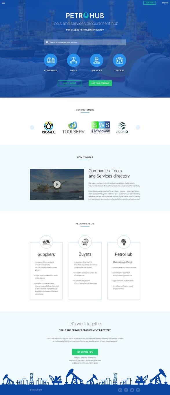 PetroHub / Website by RiSayonara
