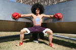 Afro Luffy cosplay