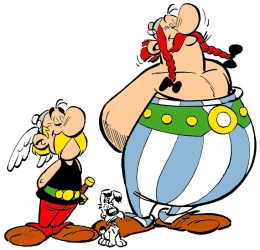 Asterix and Obelix by TheDuckFather