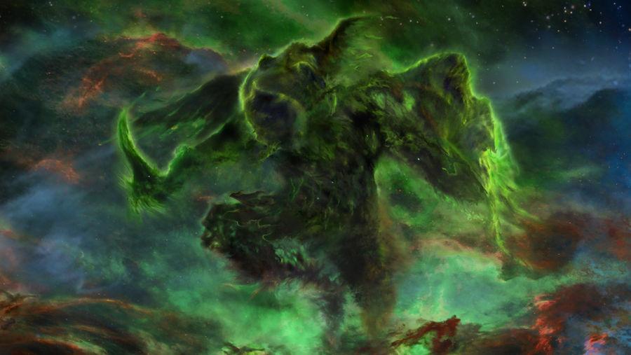 Skyrim Rogue Nebula by Lorem-Spitfire