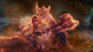 Skyrim Warrior Nebula by Lorem-Spitfire