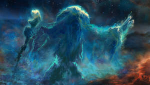 Skyrim Mage Nebula by Lorem-Spitfire