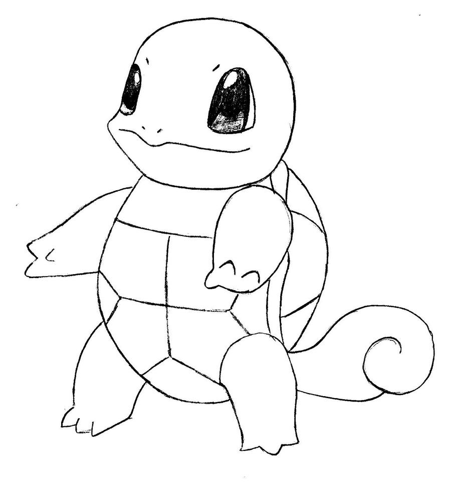Pokemon coloring pages squirtle - Squirtle From Pokemon By Ninjakitty94 Squirtle From Pokemon By Ninjakitty94 Squirtle From Pokemon By Ninjakitty94 On Deviantart