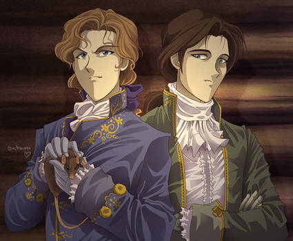 Lestat and louis da vampires