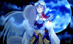 blue Sesshoumaru