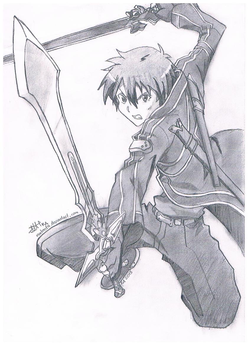 Kirito Dual Sword By Madmota On Deviantart