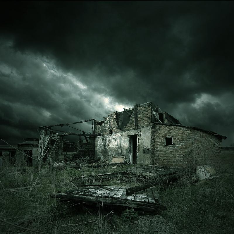 Broken Town by Karezoid