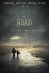 THE ROAD movie poster by Karezoid