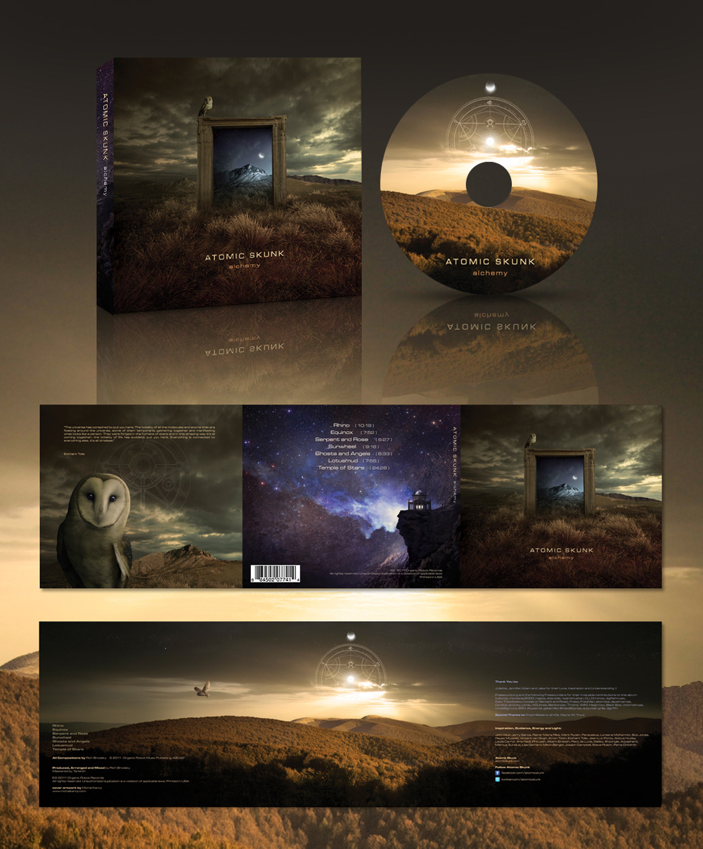 ATOMIC SKUNK Alchemy cover by Karezoid