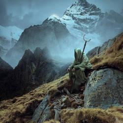 Wandering Saint by Karezoid