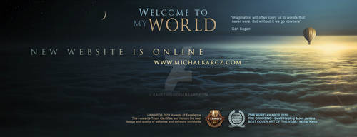 Michal Karcz PARALLEL WORLDS new website on line