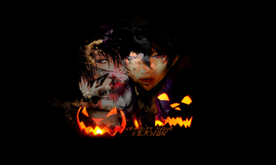 Hibari Kyoya -vampire vs.WALL- by Corpse-chu