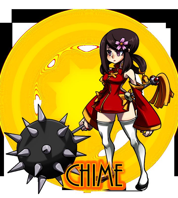 Skullgirls OC: Chime by TerrainAKKA