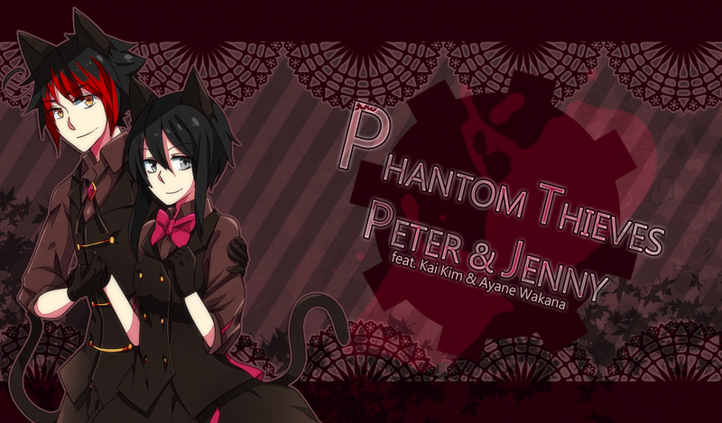 Phantom Thieves Peter and Jenny by TerrainAKKA