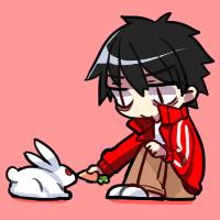 Shintaro + Bunny by TerrainAKKA