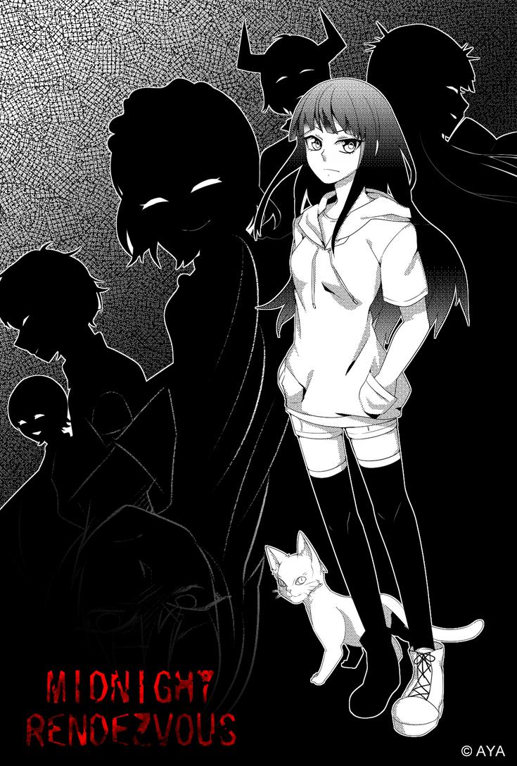 Midnight Rendezvous -manga style- by TerrainAKKA