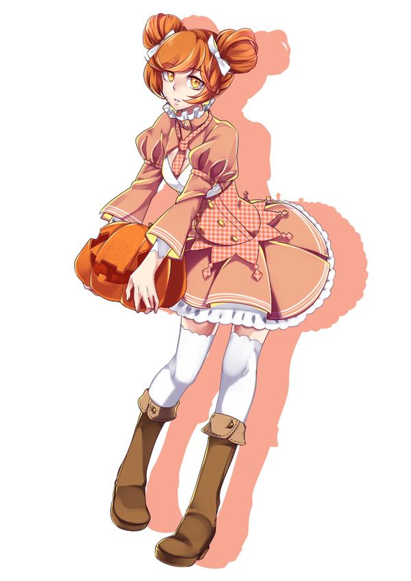 Miss Pumpkin by TerrainAKKA