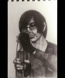 Echolox - Graphic portrait by Torifeather