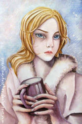 Winter portrait by Torifeather