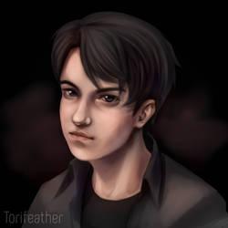 Self Portrait by Torifeather