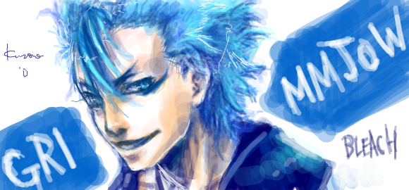 Grimmjow by evanescent-adoration