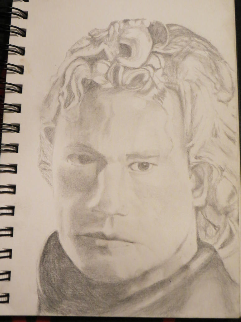 Heath Ledger by diosrubra