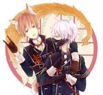Nakigitsune_owner and pet