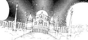 The Moon Kingdom Castle (1991 Manga)
