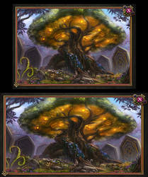Fairy Queen's Magic Tree by Moon-Shadow-1985