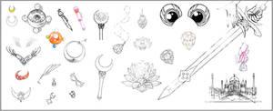 Sailor Moon Inventory (Dark Kingdom Arc)