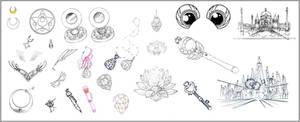 Sailor Moon Inventory (Black Moon Clan Arc)