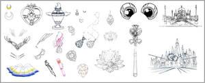 Sailor Moon Inventory (Infinity Arc)