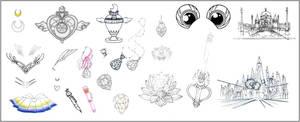 Sailor Moon Inventory (Dream Arc)