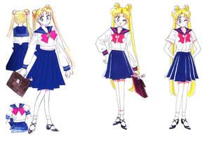 School Uniforms, Usagi Tsukino