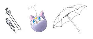 ChibiUsa's Items