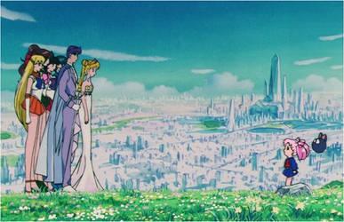Royal Family Reunion (1992 Anime) by Moon-Shadow-1985