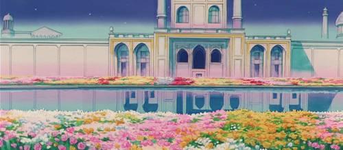 Moon Castle Gardens (1992 Anime) by Moon-Shadow-1985
