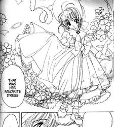 Sakura's Mother's Childhood Dress (Manga) by Moon-Shadow-1985