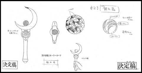Silver Crystal (1992 Anime Settei)