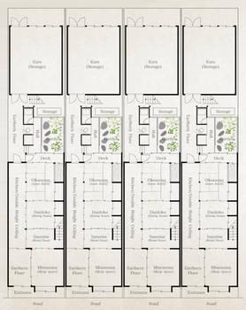 Kyo-Machiya Floorplan (typical)