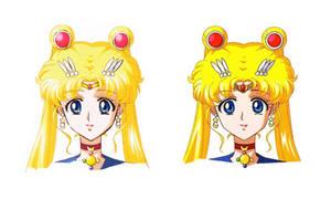 Sailor Moon's Tiara (2014 Anime Settei)