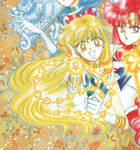 Super Sailor Venus and her Venus Love-and-Beauty W