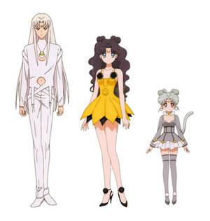 Moon Cat Family - settei (SME)