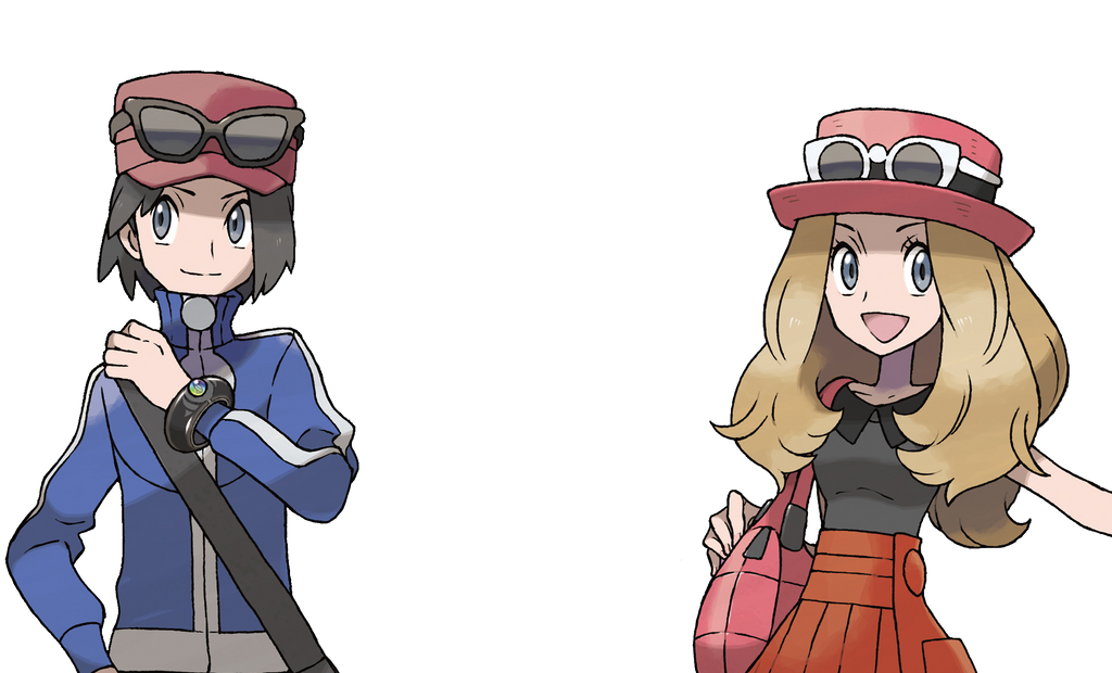 Pokemon X And Y Characters Png 372945849