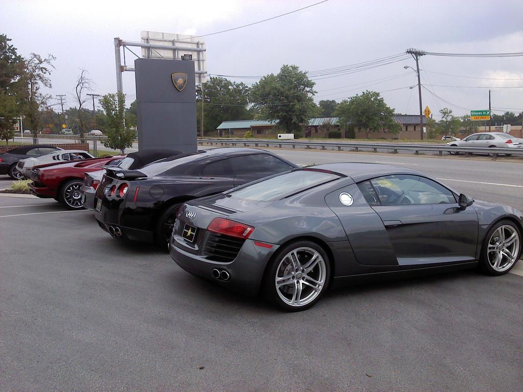 Lamborghini Carolinas Nomana Bakes